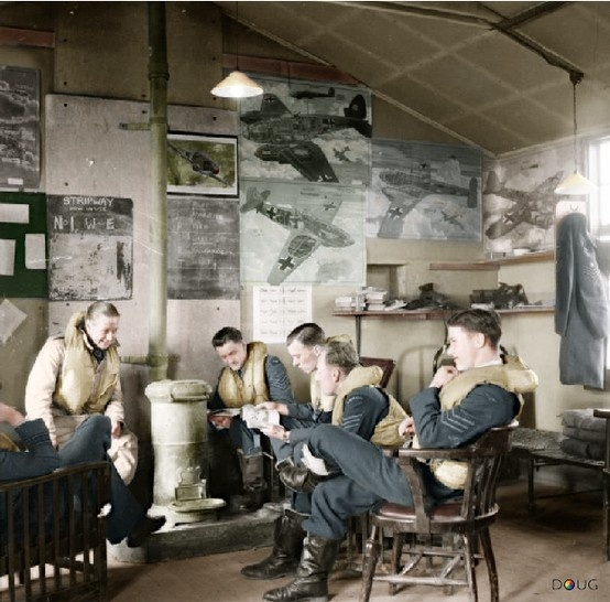 RAF 'Battle of Britain' Dispersal Hut