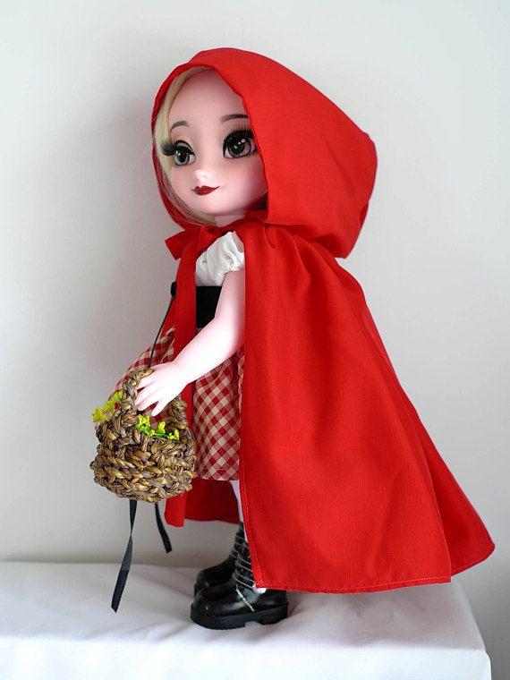Kleine Red Riding Hood Outfit passt zu Disney-Animator-Puppe 16 Produkt enthalten: -Roter Umhang -Weißes top -Rock -Korsett * Puppe und weitere Accessoires sind nicht enthalten. Weltweiter Versand aus Thailand über Thai post Internationale Luftpost mit registrierten Tracking-Nummer.