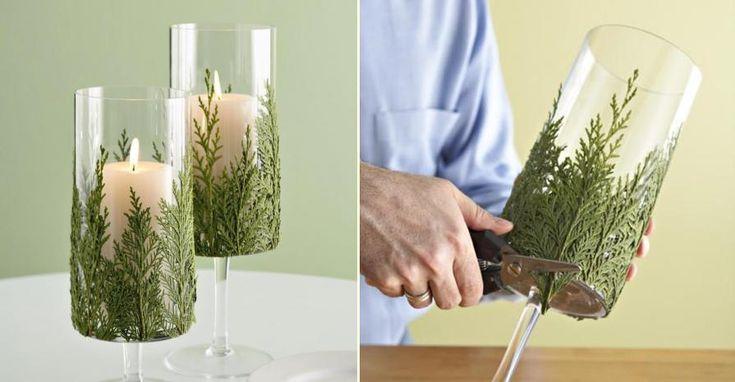 18 Makkelijke zelfmaak ideetjes om je huis op te fleuren met kerst!