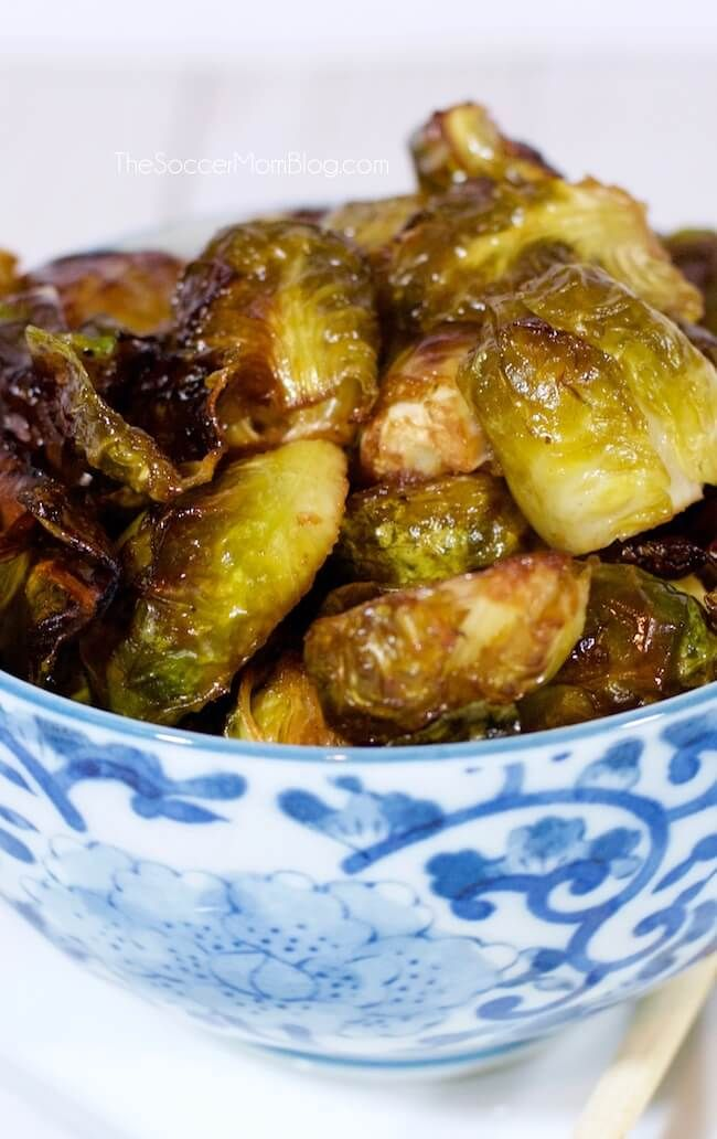 These Asian Roasted Brussels Sprouts will change your life!! One bite and you&#3…   – recipes