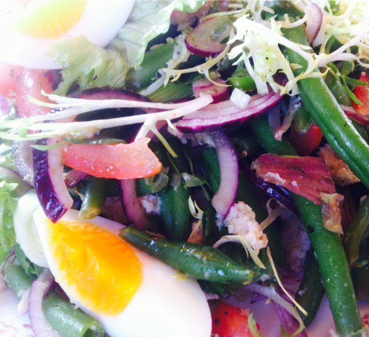 Libanese Tabouleh:salade van bulgur,tomaat,munt en peterselie