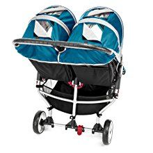 Amazon.com : Baby Jogger City Mini Double Stroller, Black/Gray (Discontinued by Manufacturer) : Standard Baby Strollers : Baby