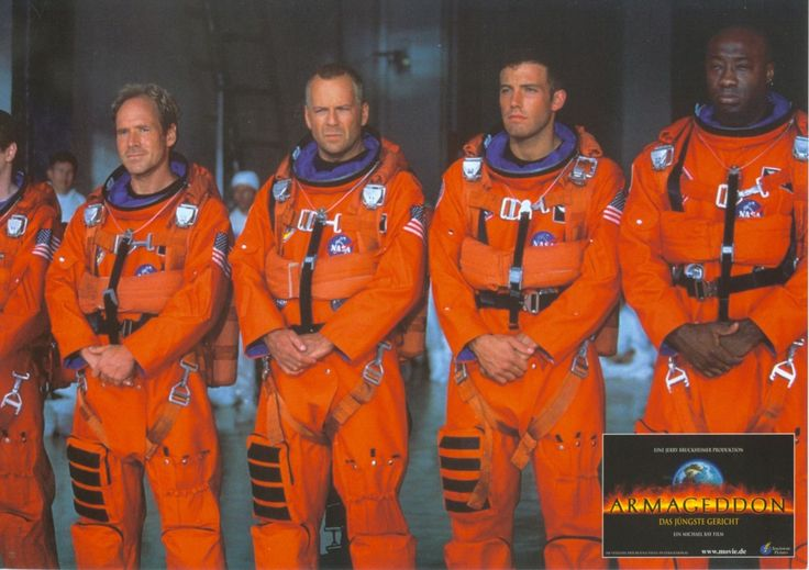 Armageddon, German lobby card, 1998. Submitted by Dieter to lobbycards.tumblr.com