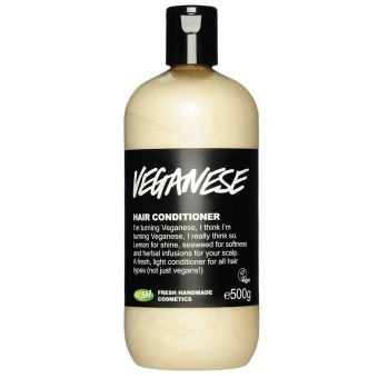 Smells so citrusy. First Lush conditioner I ever tried. Very light weight!