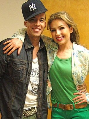 Daddy yankee and Thalia on Pinterest