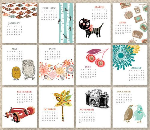 200 best images about kalender design on pinterest for Kalender design
