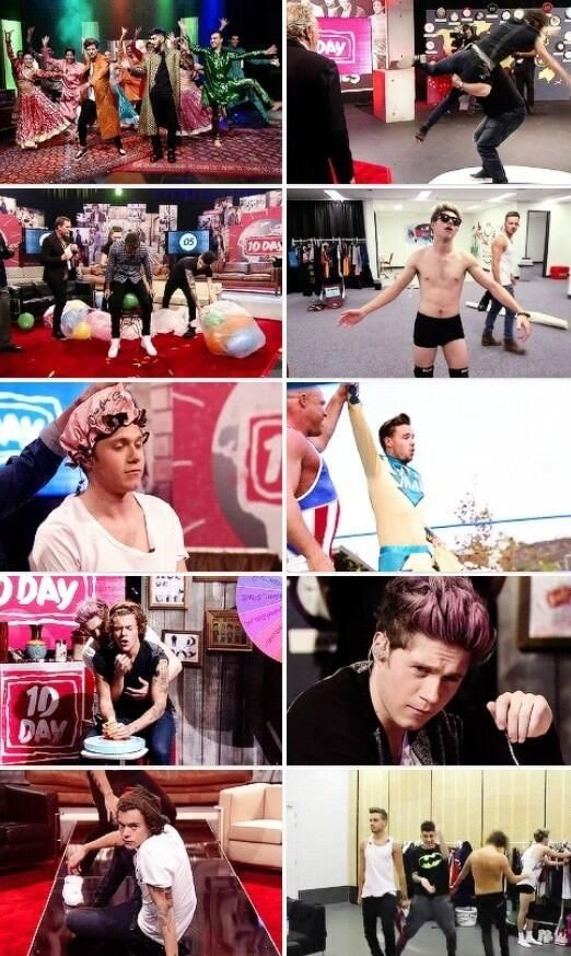 If you didn't watch one direction day, this is the halarious, cuteness, overload that you missed