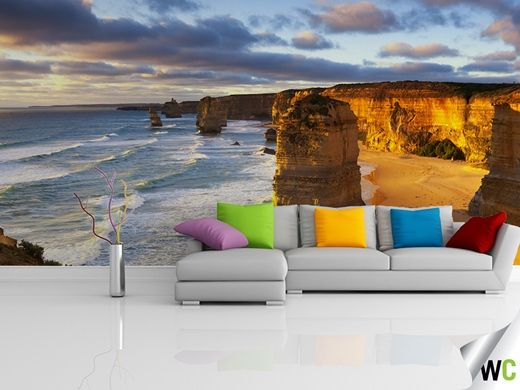 Wall mural of the 12 Apostles, Victoria