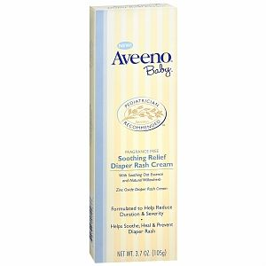 I'm learning all about Aveeno Baby Soothing Relief Diaper Rash Cream at @Influenster!