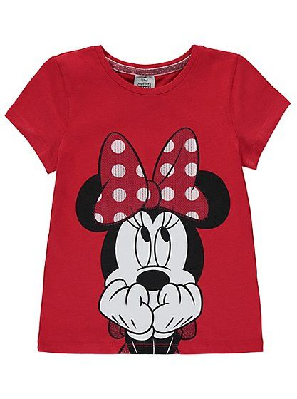 Disney Minnie Mouse T-shirt, read reviews and buy online at George at ASDA. Shop from our latest range in Kids. Your little Disney fan will be the cutest mou...