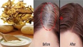 Get Rid Of Gray Hair For Good: All You Need Is One Ingredient And The Results Will Amazed You!