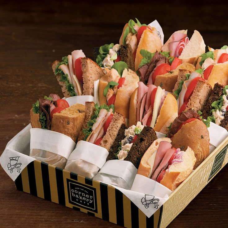Panera Bread Catering Food | Foodservice Solutions: Catering at Boston Market, Au Bon Pain, TGI ...