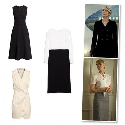House of Cards: Δείτε τα ωραιότερα φορέματα για το γραφείο εμπνευσμένα από τη stylish Claire Underwood