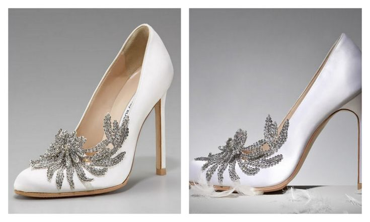 Swan shoes- Manolo Blanick. Created for Twilight but soooo gorgeous!