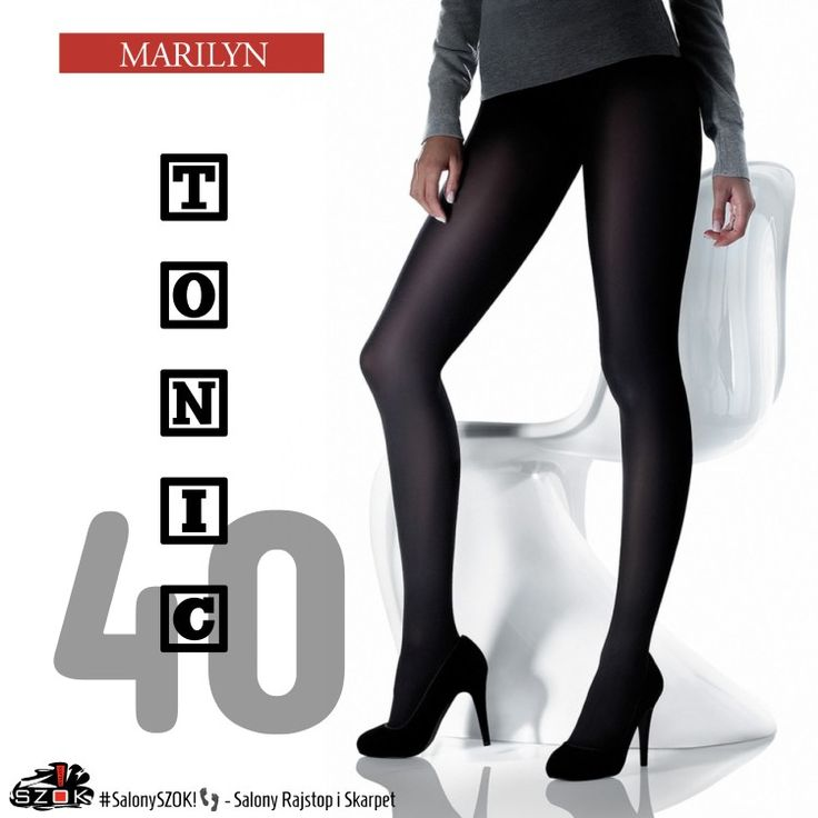 🔴 #Klasyczne ale jedyne w swoim rodzaju! Takie są właśnie #rajstopy #Tonic 40 firmy #Marilyn. Dostępne w Naszych #SalonySZOK!👣