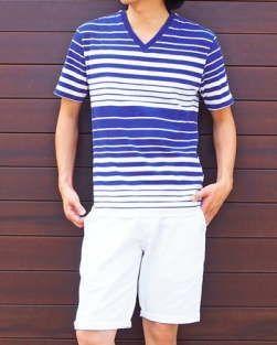 20代、30代男性向けで今年の夏におすすめのおしゃれなボーダーの半袖Tシャツとカットソーを集めて一覧に!