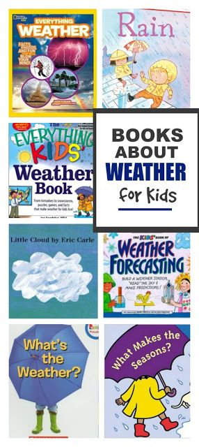 Books about weather for kids