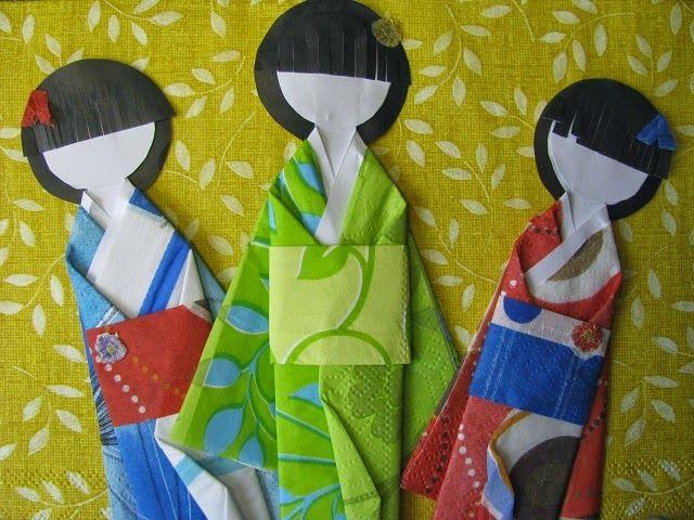 Куклы из бумаги. Обзор и небольшой мастер-класс