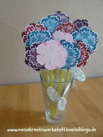 Stampin up, Mixed Bunch, Blumen, Goodie