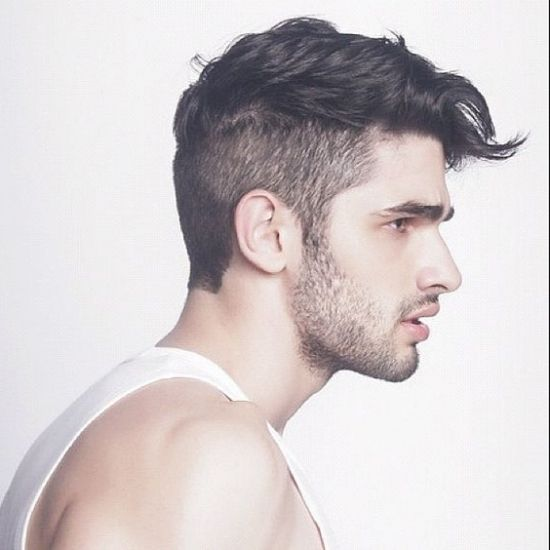 26++ Side shaved hairstyle male inspirations