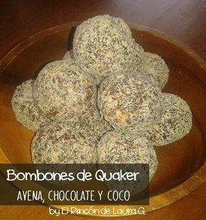 Bombones de Avena • Bombones de Quaker