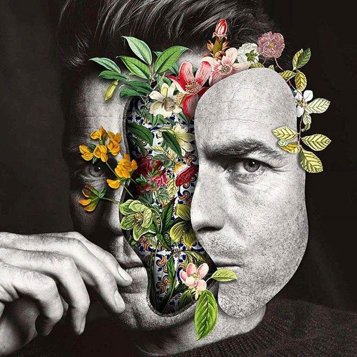 Les collages surréalistes de Marcelo Monreal (image)