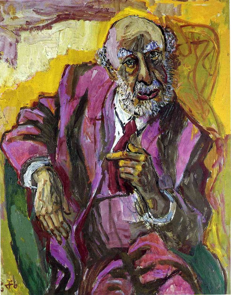 "Otto Dix, Gera, Germany (1891-1969). German painter and printmaker. New Objectivity (Neue Sachlichkeit). ""Fritz Perls""."