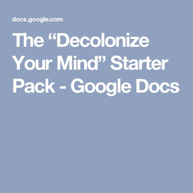 Decolonizing the mind essay