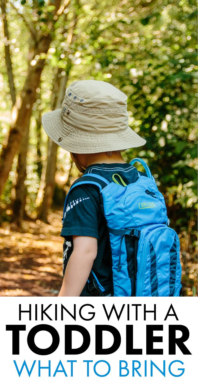 Part Two of the Hiking With A Toddler Series: What To Bring || See Luke Go