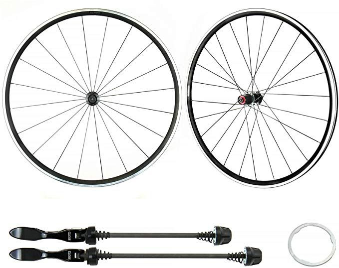 Alexrims 700c Road Bike Wheelset For Sram Compatible With Shimano