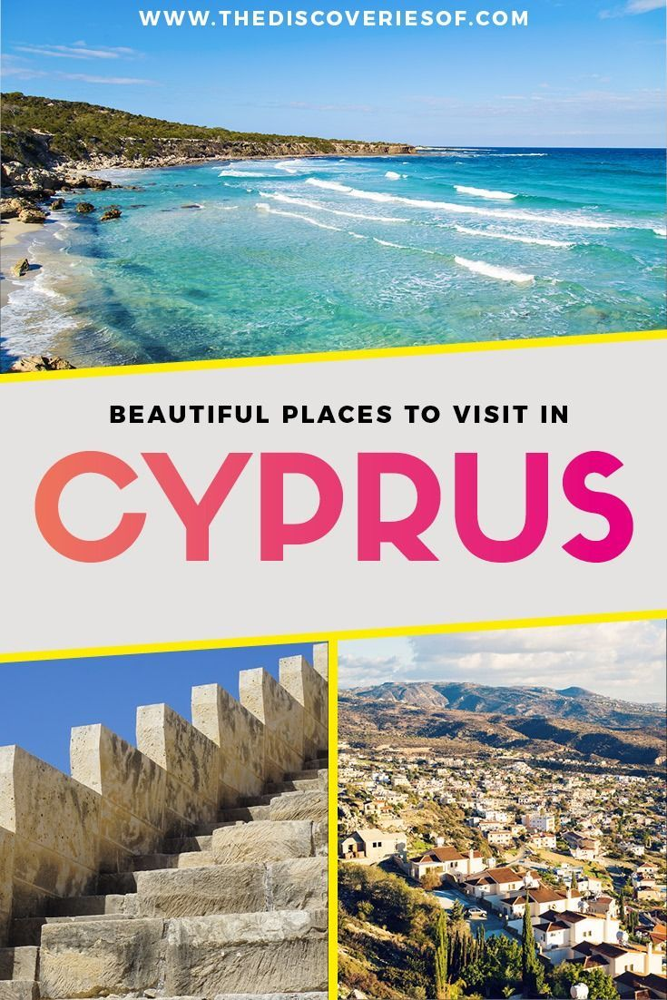 Cyprus travel destinations you need to see. Awesome things to do in Cyprus from beaches, to food and culture - visit Ayia Napia, Larnaca, Limassol and more #traveldestinations #travelinspiration #wanderlust #europetravel