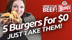 Shady New Wendy's Deal Offering Five Hamburgers For Free, No Questions Asked | Full video at theonion.com