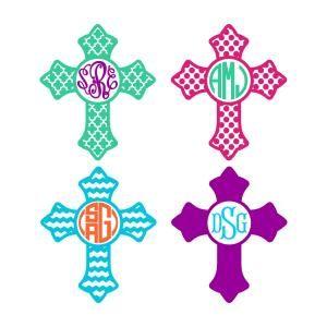 Cross Church Patterns Svg Cuttable Frames