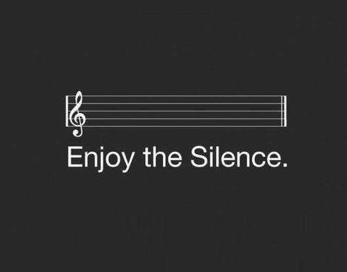 Probably one of my favourite songs of all time from one of my top bands of all time: Enjoy the Silence - Depeche Mode