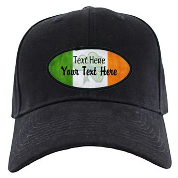 Custom Irish Flag. Celebrate St. Patrick's Day with this Irish flag St. Paddy design. Great for St. Patty's Day, or any day. Personalize and add your custom name or text.