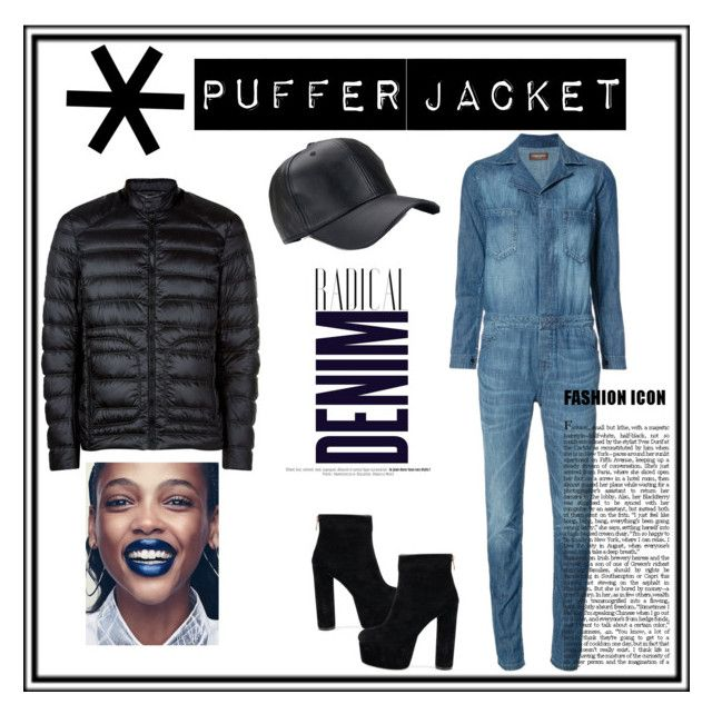 """""""Puffer jacket"""" by nancykou on Polyvore featuring Etienne Marcel, Belstaff and Alima"""