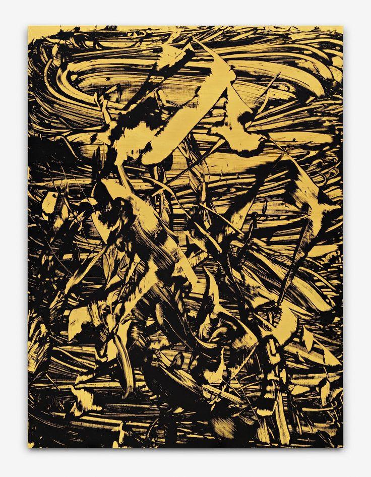 """Judy Millar """"Ferryman"""" 2011 270x200cm acrylic ol on canvas"""