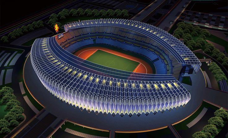 Olympic Sports | The decoration of the Olympic Sports Center | Beijing Olympic Stadium