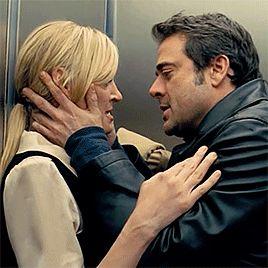 Accidentally in love with Jeffrey Dean Morgan — Jeffrey Dean Morgan. 10 randomly chosen kisses....