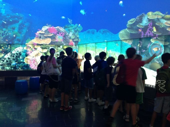 The Cube, a must visit for young science fans, is one of the world's largest digital interactive learning and display spaces.