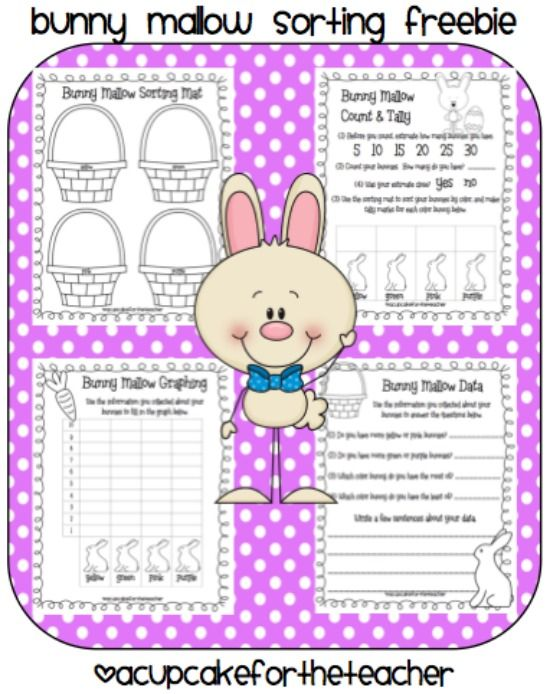 16 spring and easter math ideas math bunnies and worksheets. Black Bedroom Furniture Sets. Home Design Ideas