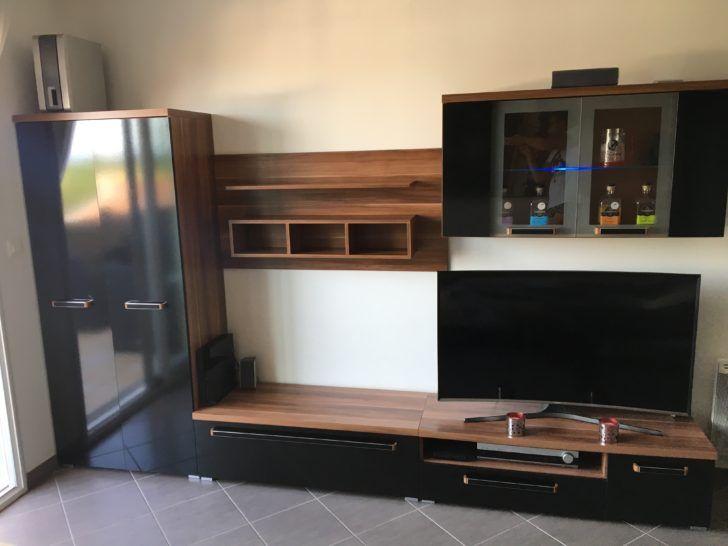 Interior Design Meuble Tv Noir Et Bois Achetez Super Meuble Tv Noir Occasion Annonce Vente A Tignieu Et Bois Wb156469927 Table Consol Home Decor Home Furniture