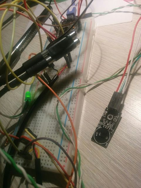 IoT with ESP8266: DS18B20 temperature sensor and ESP8266