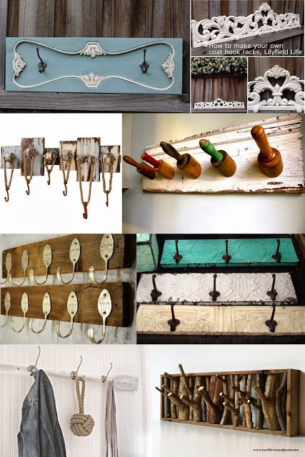 Lilyfield life: How to make your own coat hook rack and Coat Rack Ideas