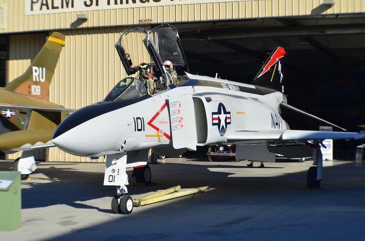F-4 Phantom II as the Palm Springs Air Museum copy