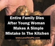 Entire Family Dies After Young Woman Makes A Simple Mistake In The Kitchen