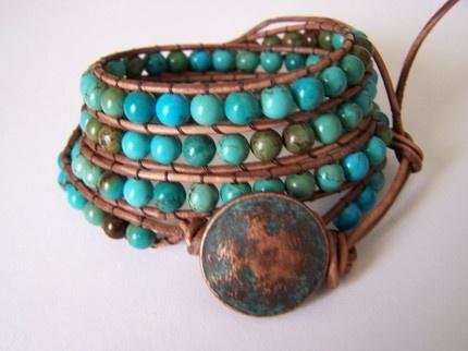 turquoises bracelet