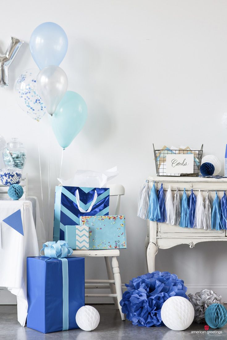 Blue Birthday Party Ideas Blue Birthday Blue Birthday Themes