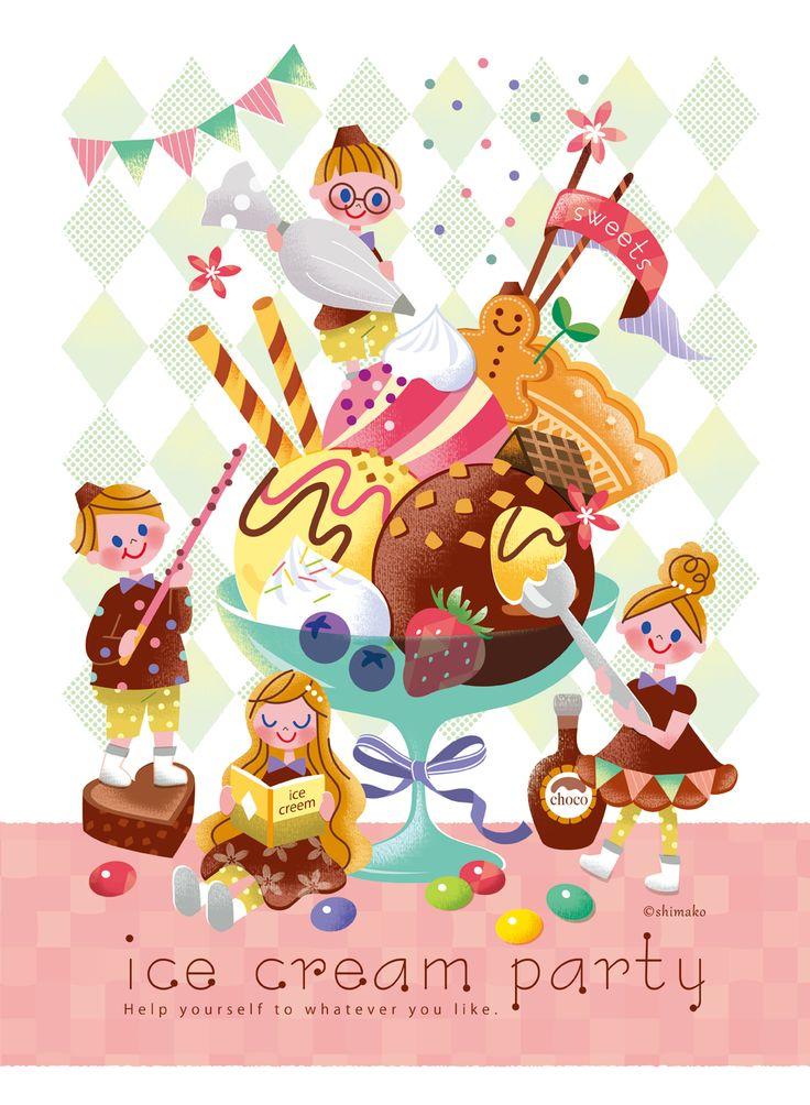Ice Cream Party - Shimako もっと見る
