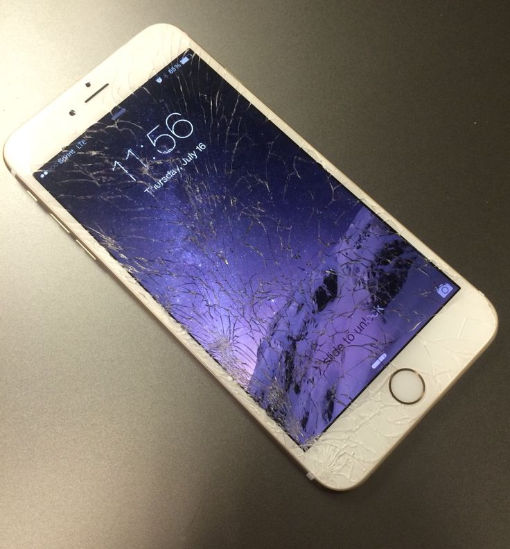 fix iphone 6 plus cracked screen